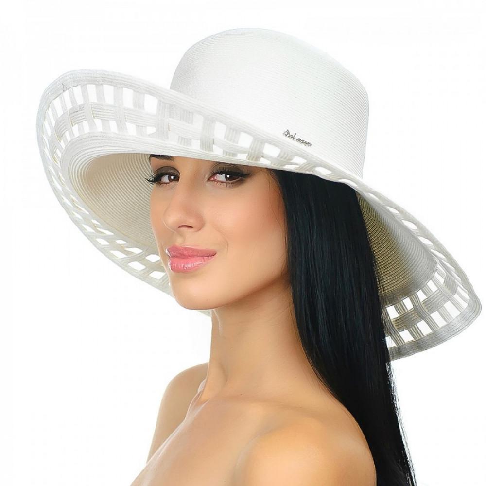Белоснежная шляпка Амита фото 3