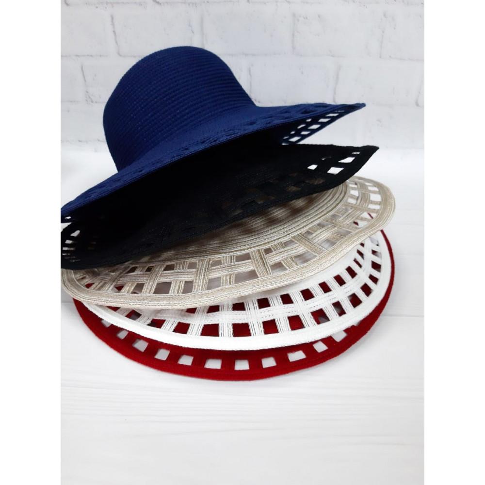 Літній синій капелюх Аміта фото 2