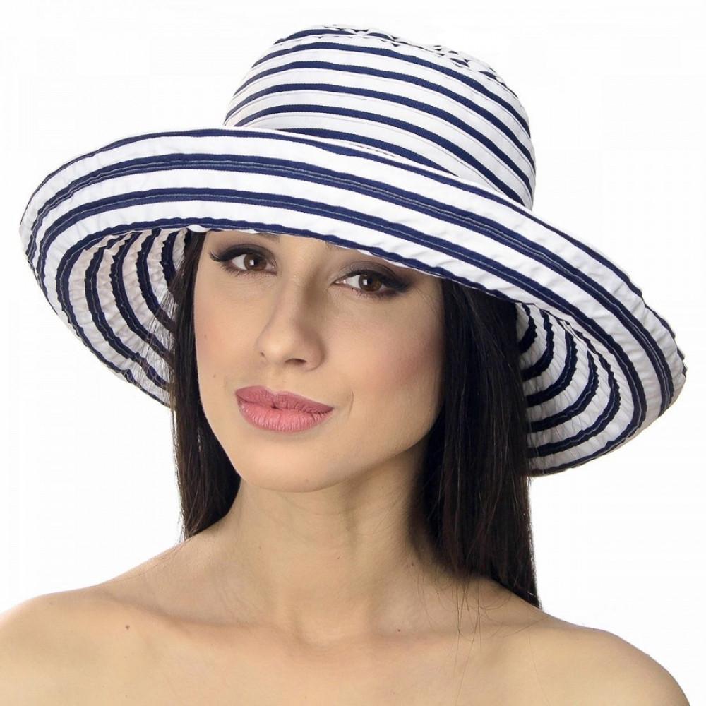 Интересная шляпа в морском стиле фото 1