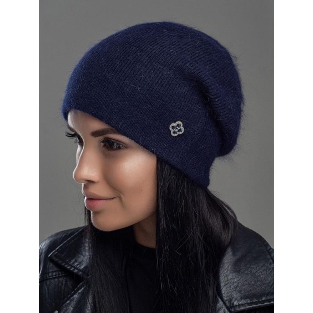 Женская шапка с украшением Нарцис  фото 1