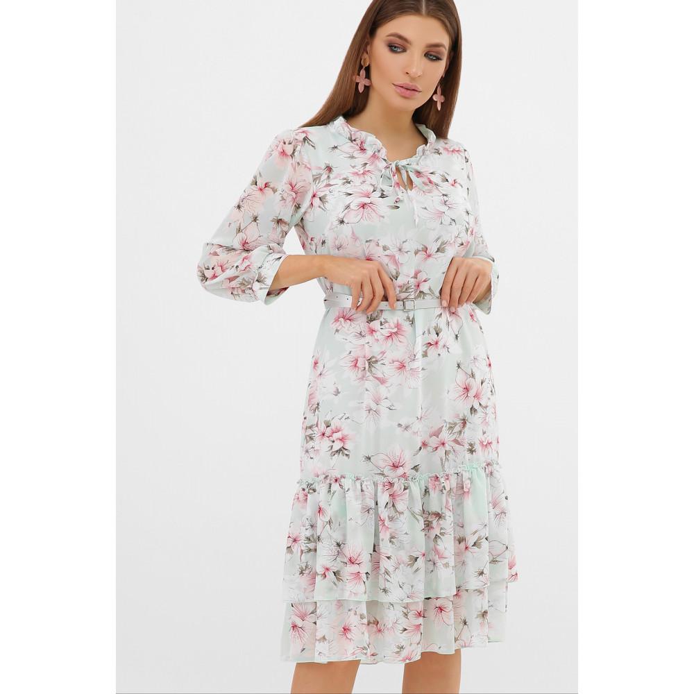 Воздушное шифоновое платье Элисон фото 1