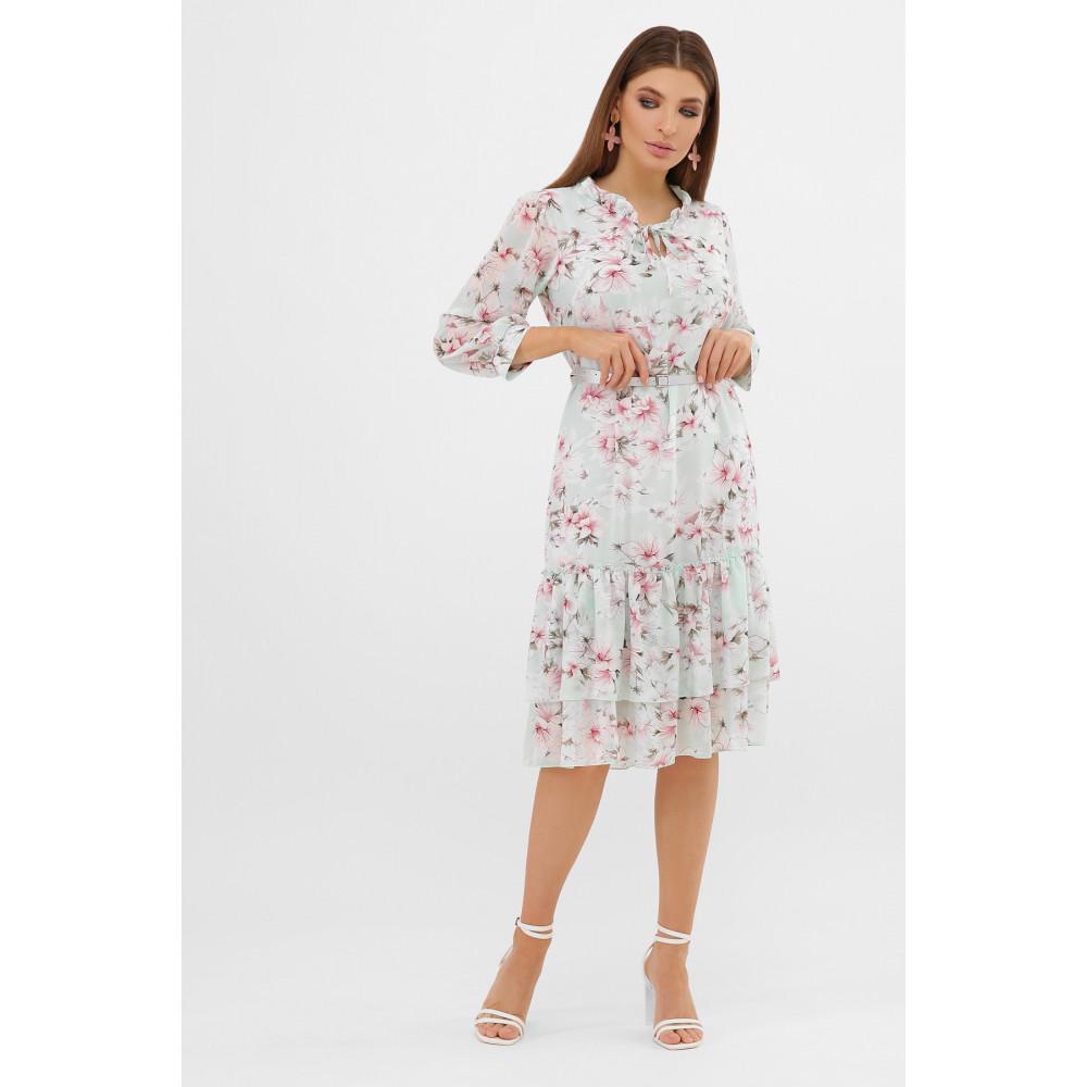 Воздушное шифоновое платье Элисон фото 3
