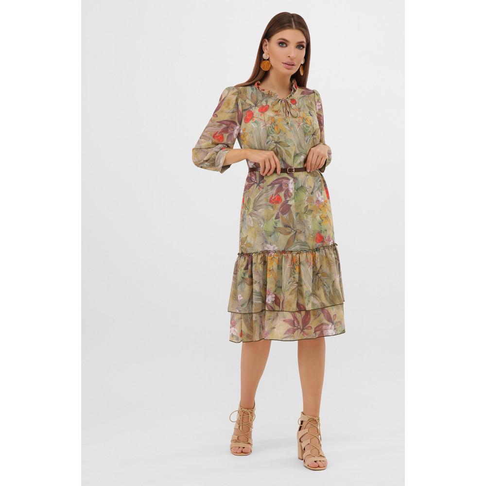Интересное шифоновое платье Элисон фото 3