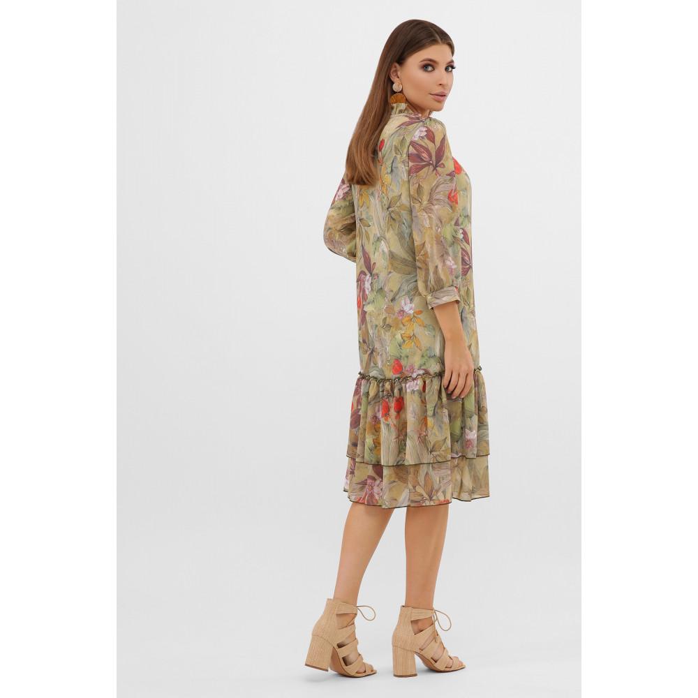 Интересное шифоновое платье Элисон фото 4
