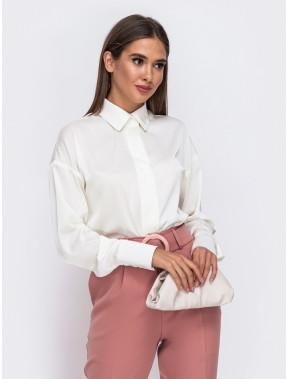 Симпатична шовкова блуза Алана