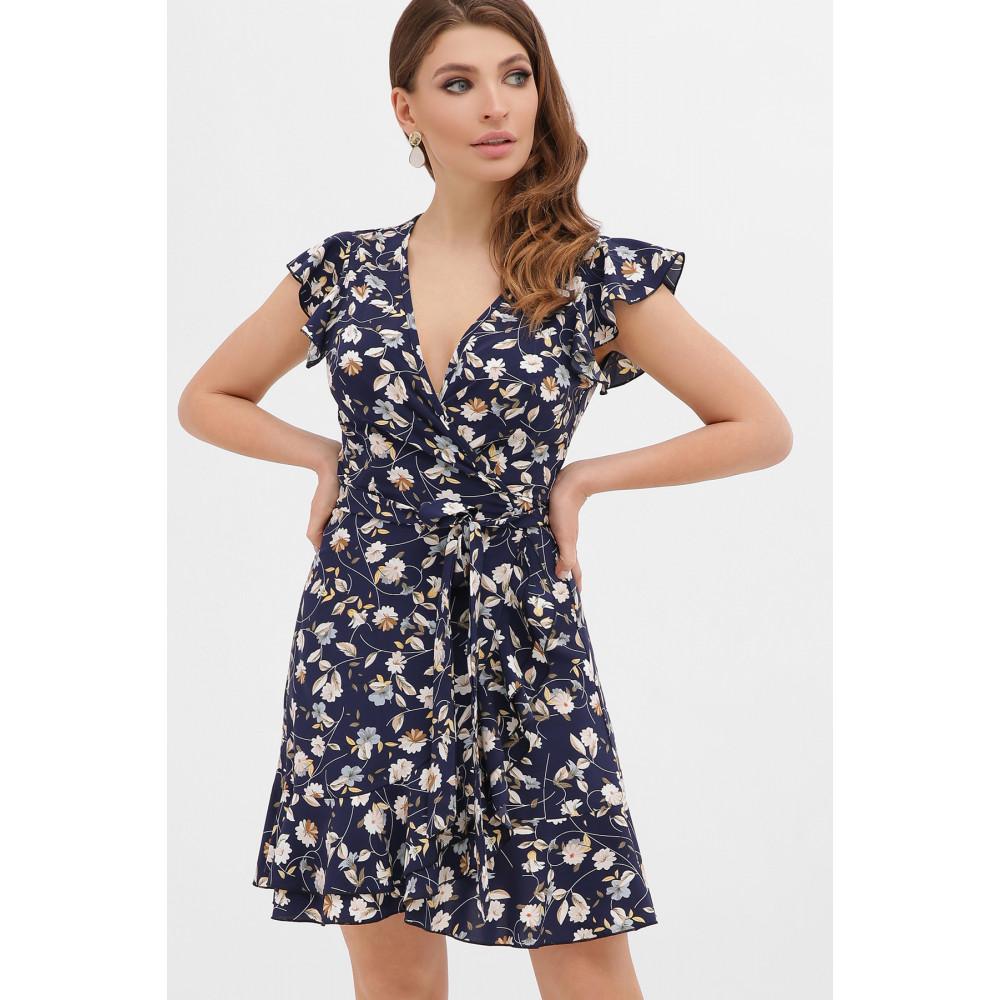 Женственное платье с воланами София фото 1