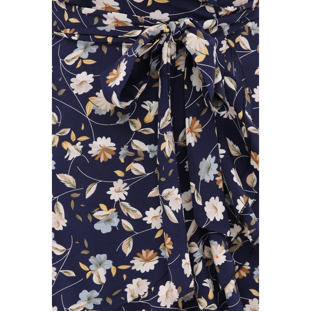 Женственное платье с воланами София фото 4