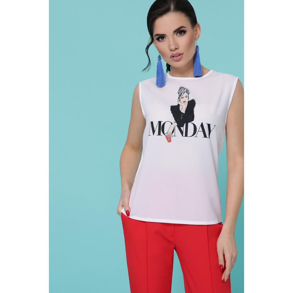 Женская футболка Monday фото 1