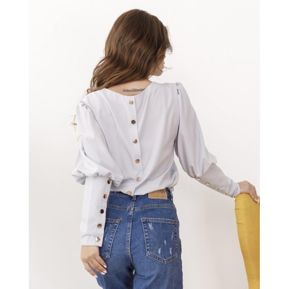 Интересная деловая блуза Женевьева фото 2