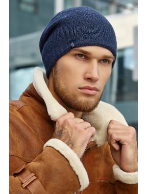 Мужская шапка Джек синего цвета