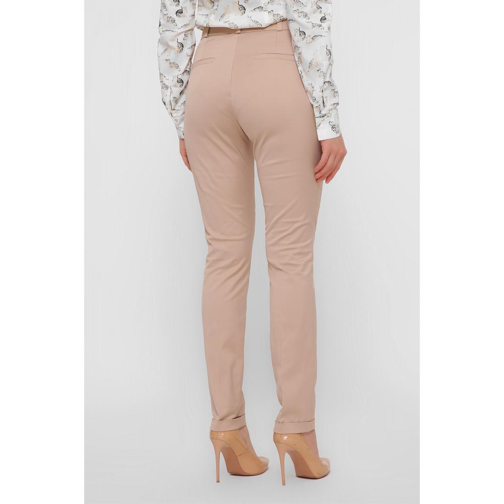 Зауженные брюки с высокой посадкой Астор фото 3