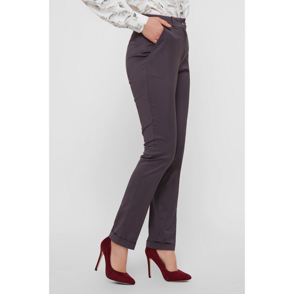 Красивые брюки с подворотами Астор фото 1