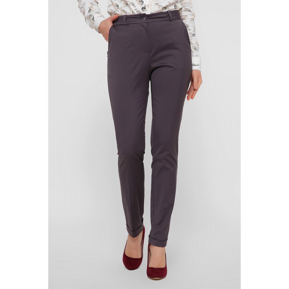 Красивые брюки с подворотами Астор фото 2