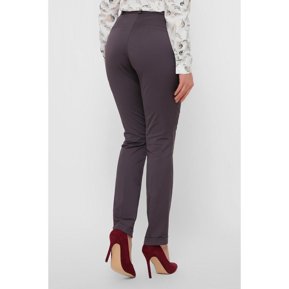 Красивые брюки с подворотами Астор фото 3