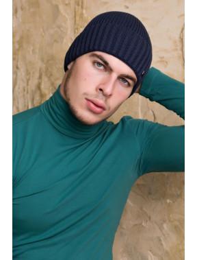 Мужская шапка Макс с флисом