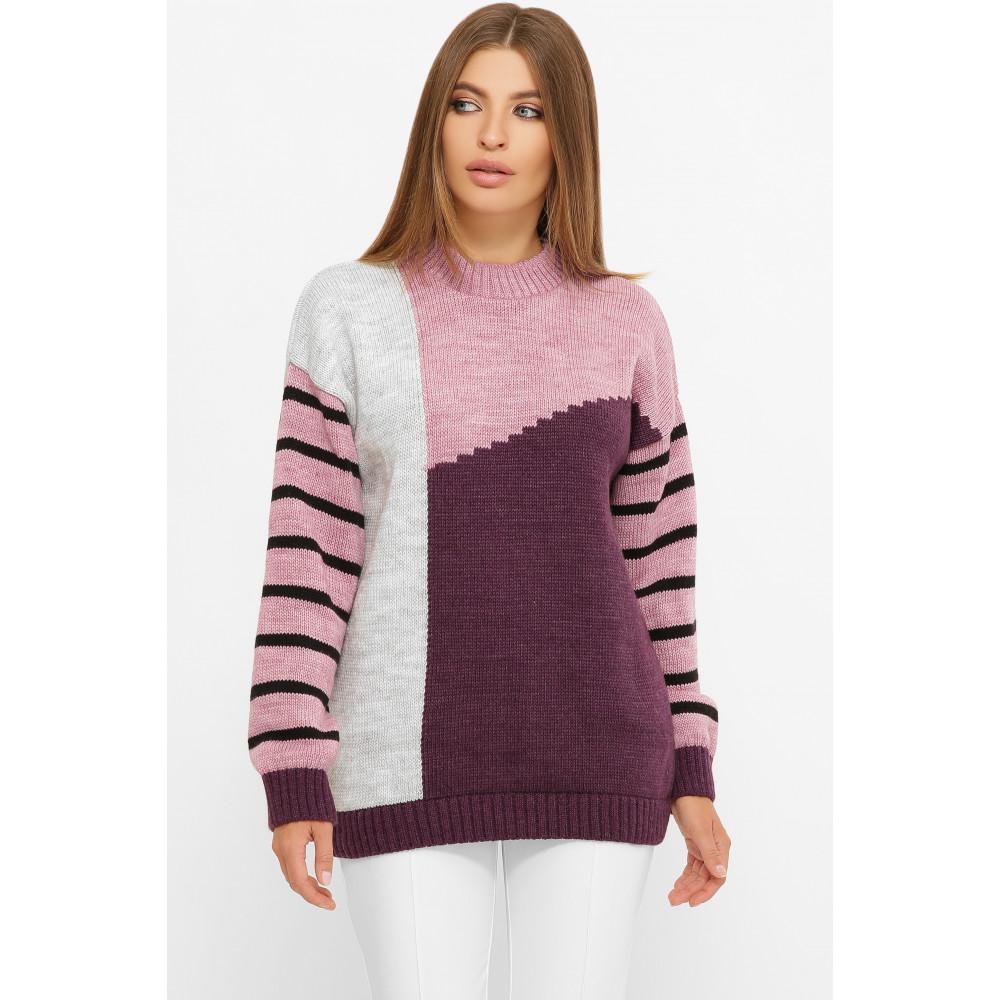 Интересный свитер с рисунком фото 1