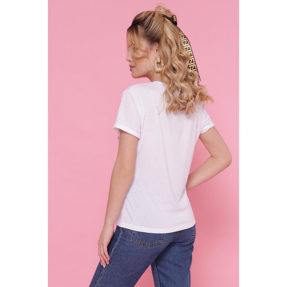 Женская футболка Стильный кот фото 2