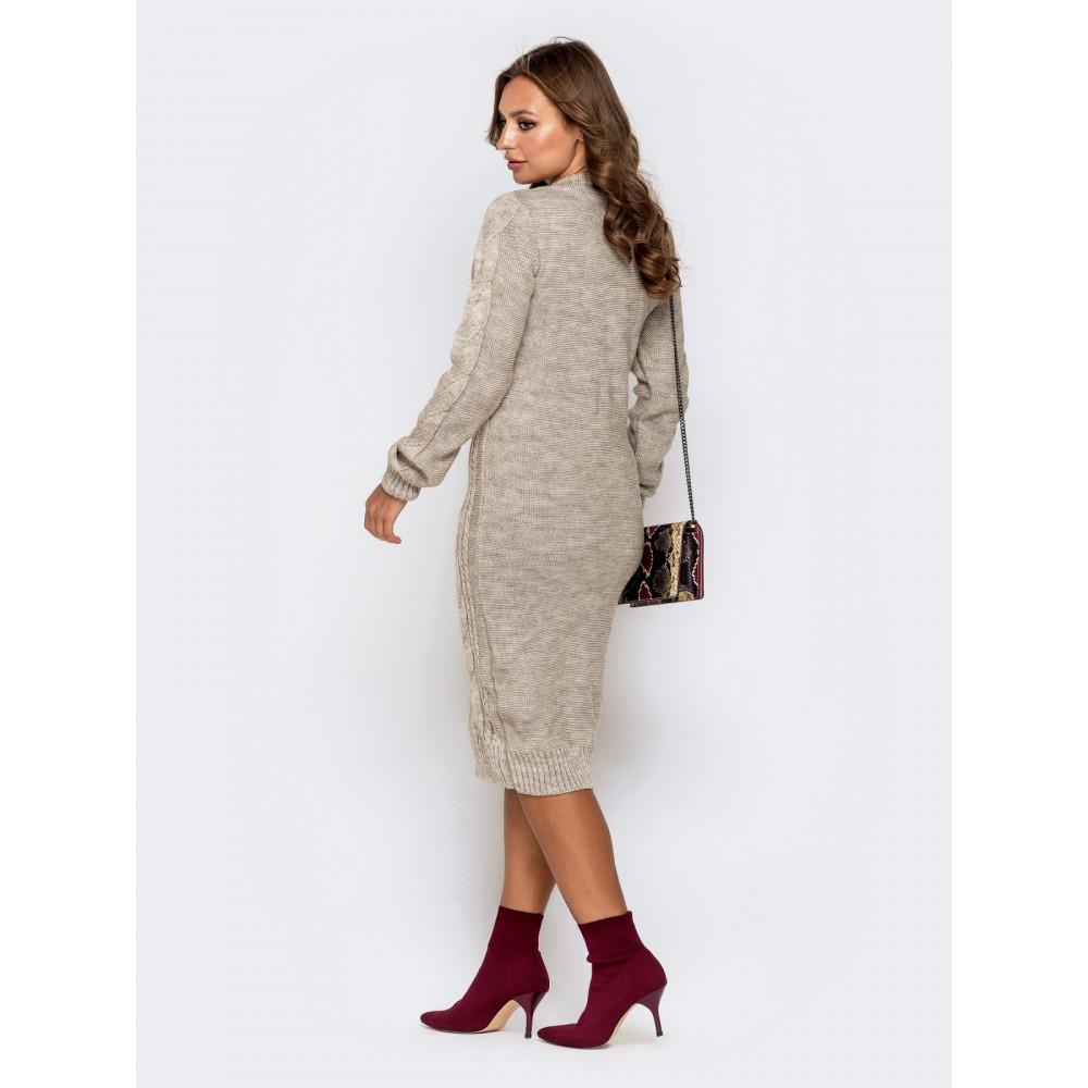 Вязаное милое платье Соландж фото 3