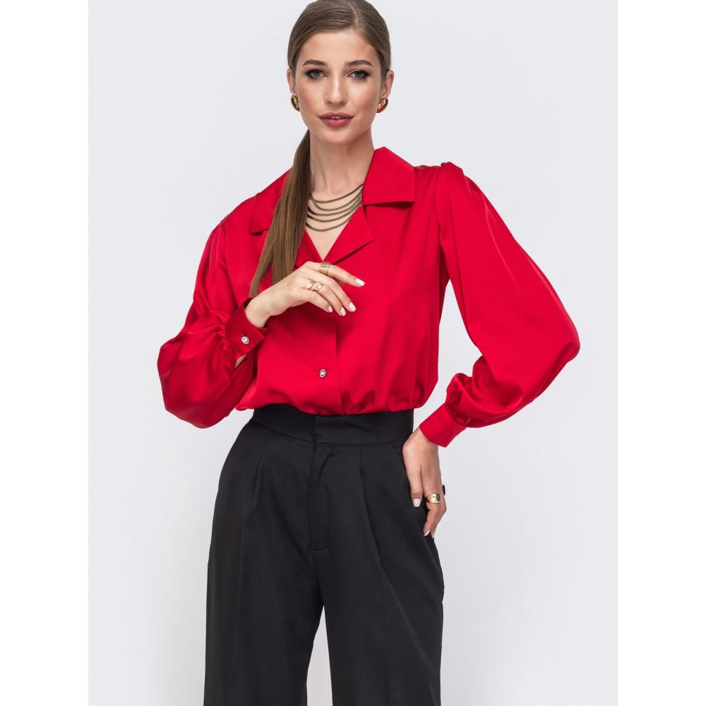 Женственная свободная блузка Сандра фото 1