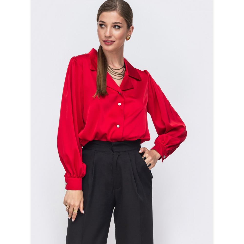 Женственная свободная блузка Сандра фото 2