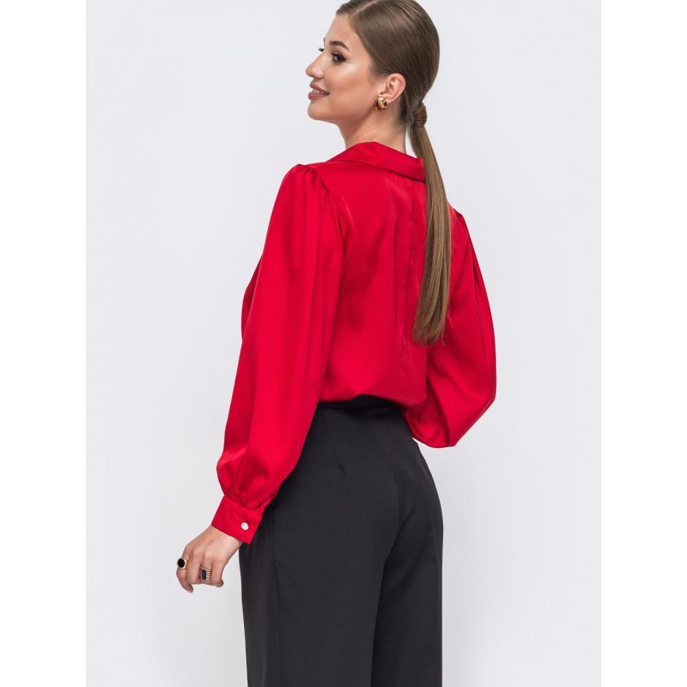 Женственная свободная блузка Сандра фото 3