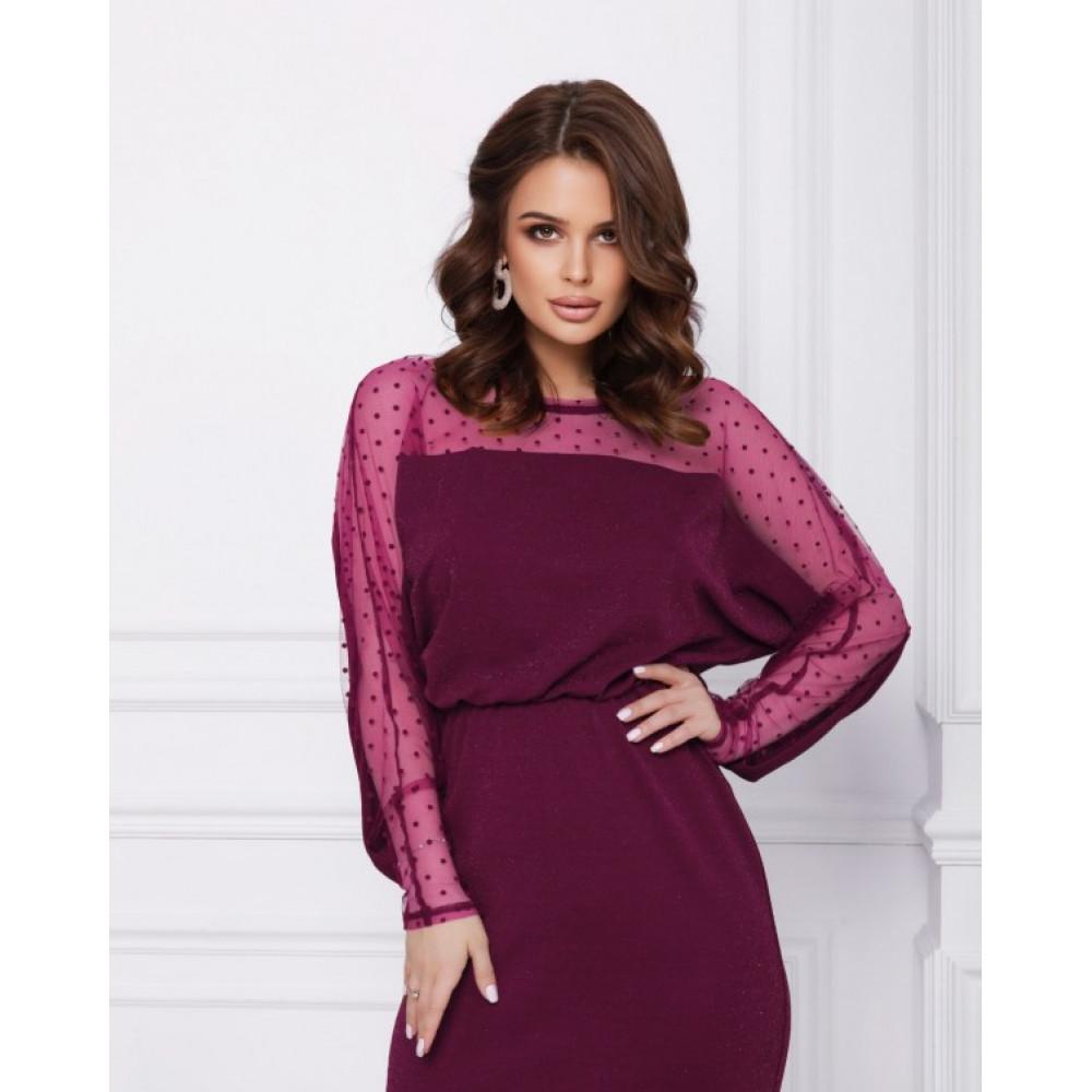 Блестящее коктейльное платье Ариэла фото 2