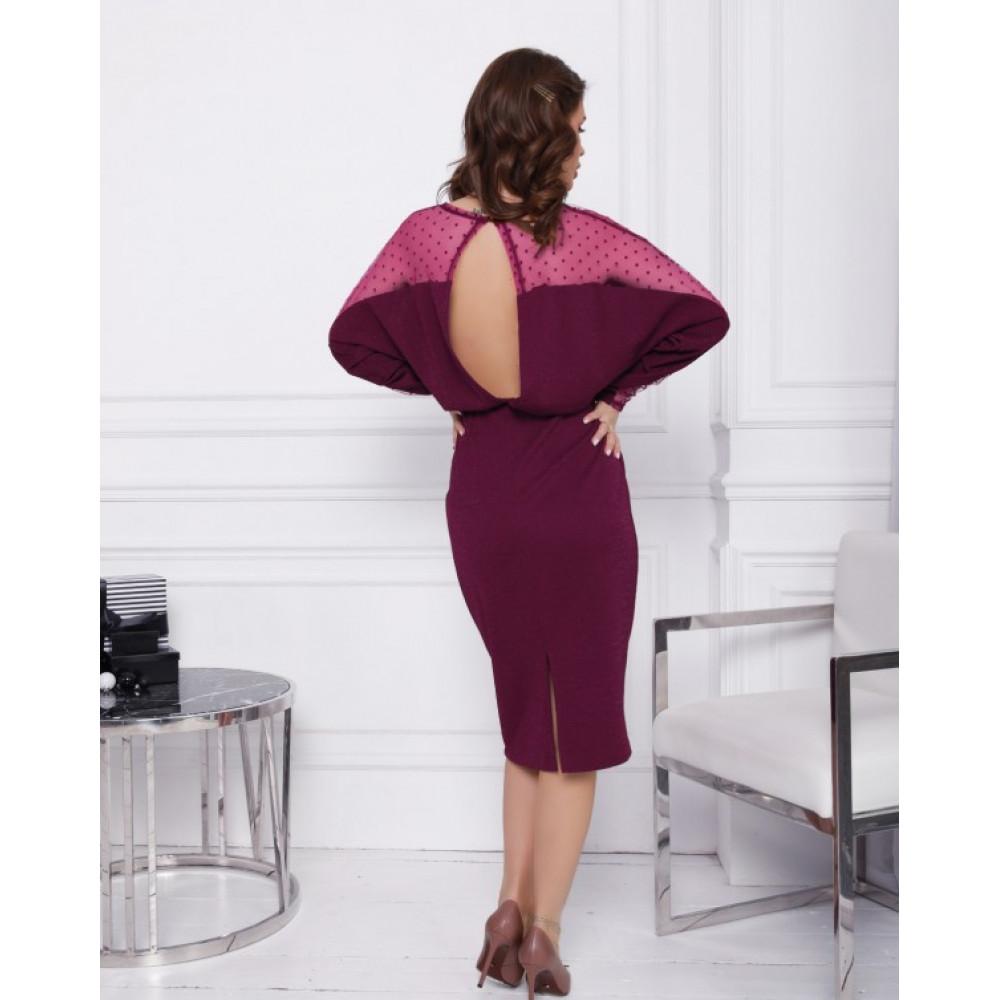 Блестящее коктейльное платье Ариэла фото 3