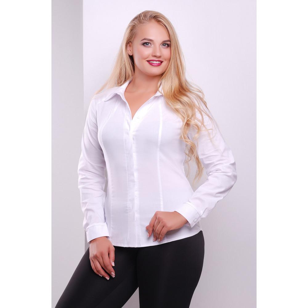Классическая блузка с длинным рукавом Норма фото 1
