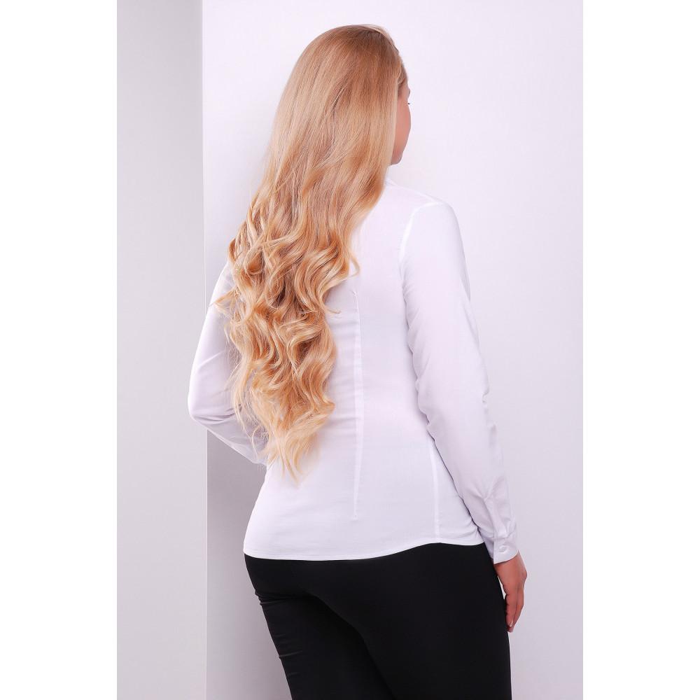Классическая блузка с длинным рукавом Норма фото 2