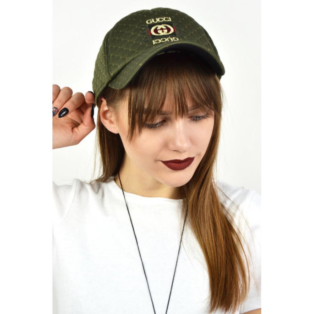 Женская кепка Gucci фото 1