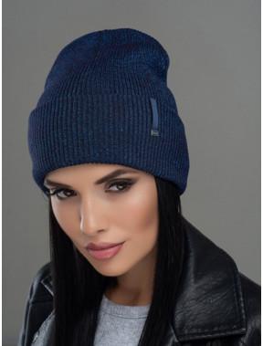 Жіноча шапка-лопата Юнона з люрексом