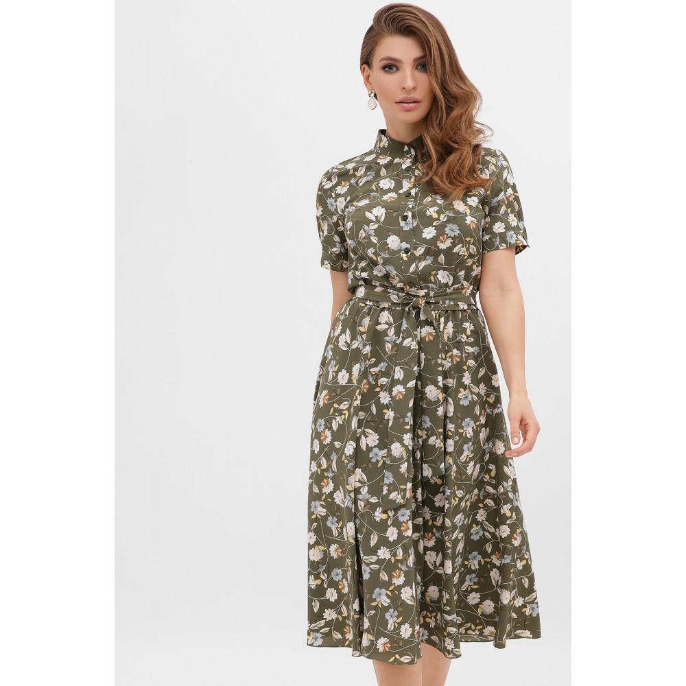 Интересное расклешенное платье Изольда фото 1