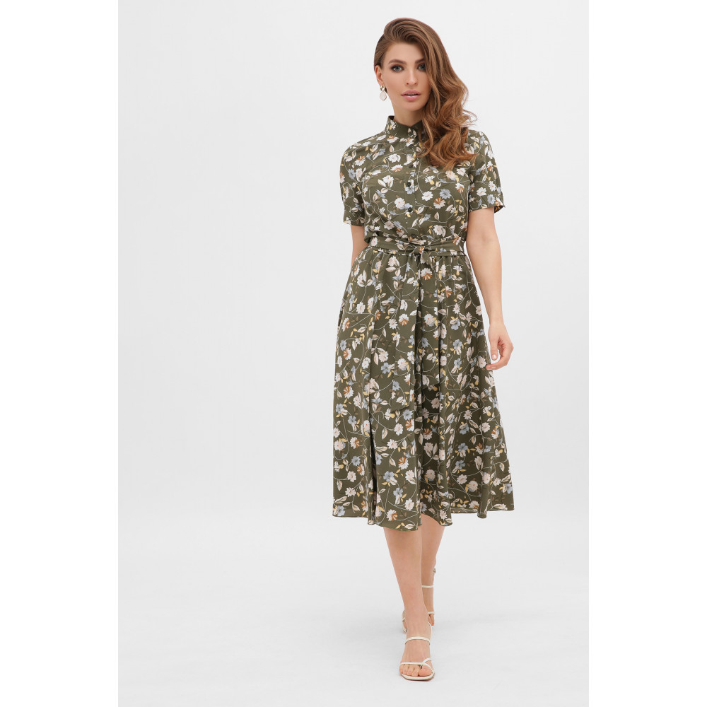 Интересное расклешенное платье Изольда фото 2