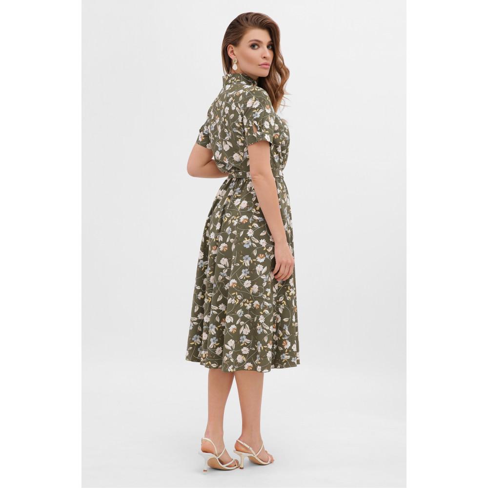 Интересное расклешенное платье Изольда фото 3