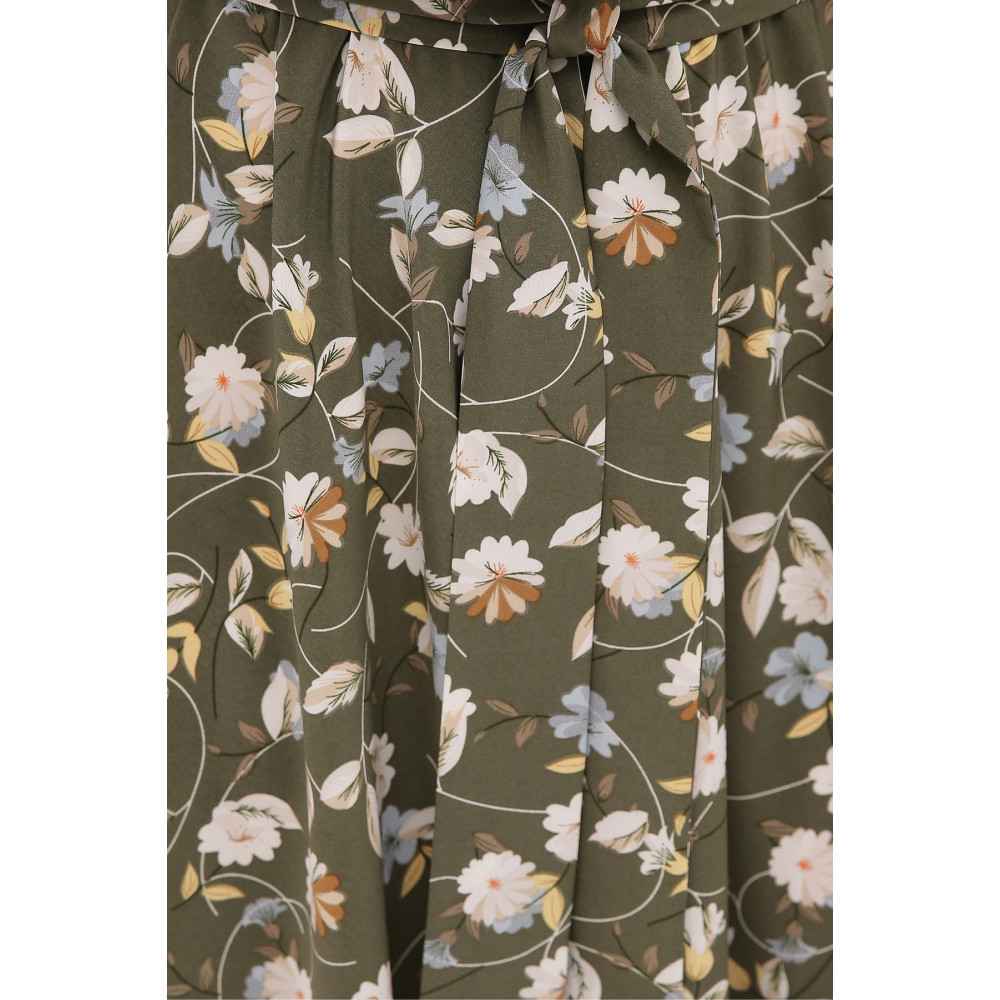 Интересное расклешенное платье Изольда фото 4