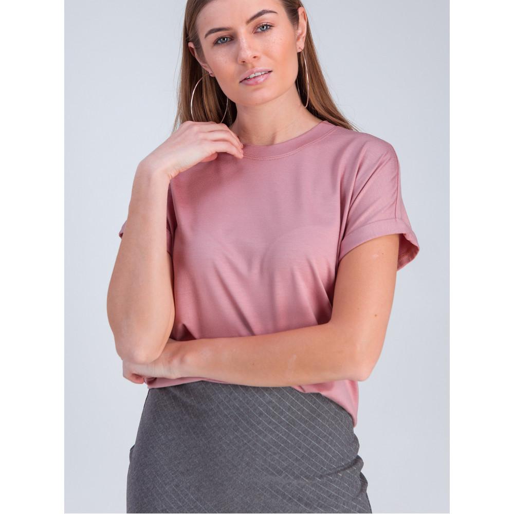Красивая розовая футболка Дея фото 1