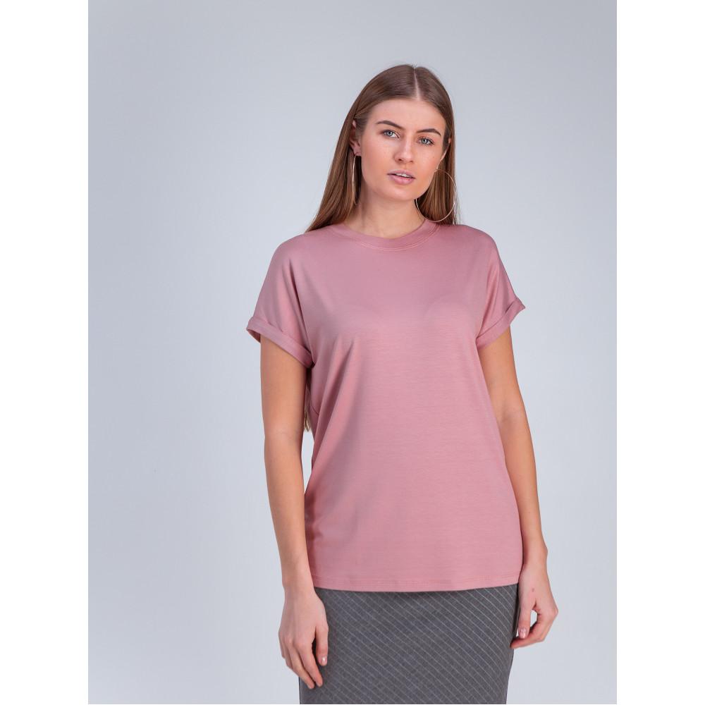 Красивая розовая футболка Дея фото 2