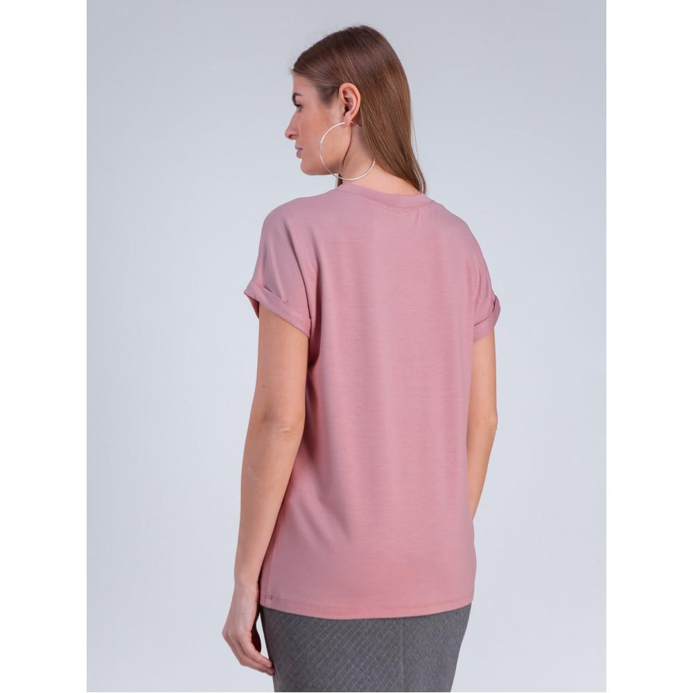 Красивая розовая футболка Дея фото 3