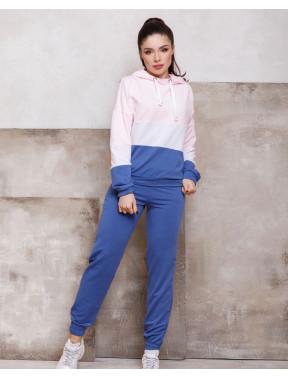 Сине-розовый спортивный костюм Луна