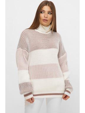 Теплий об'ємний светр Дафна