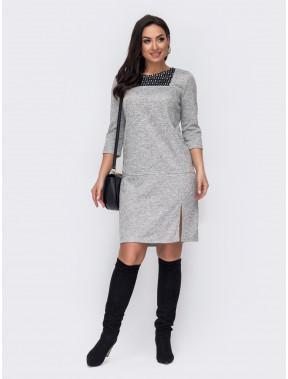 Повсякденна сіра сукня Аманда