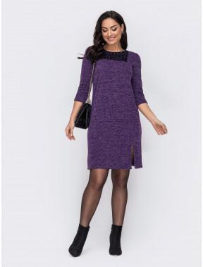 Приємна фіолетова сукня Аманда