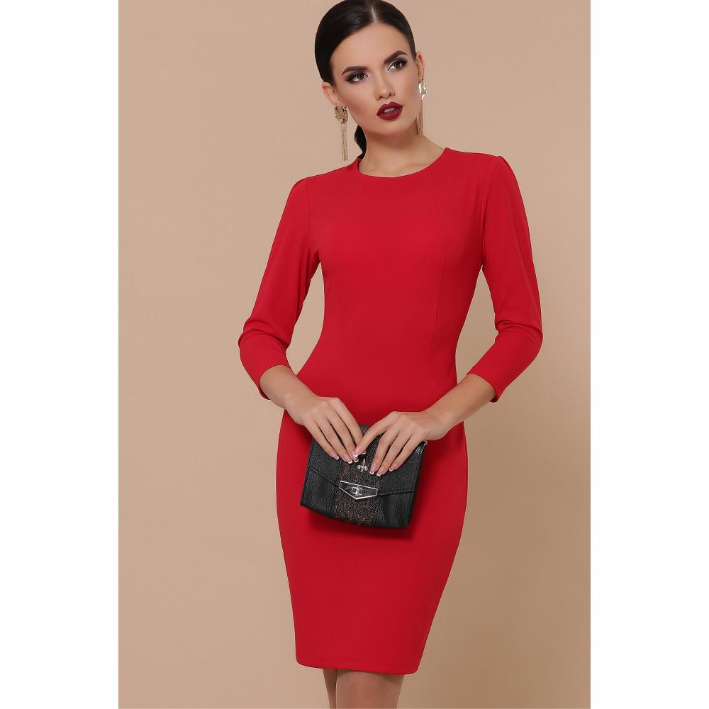 Базовое красное платье Модеста фото 1