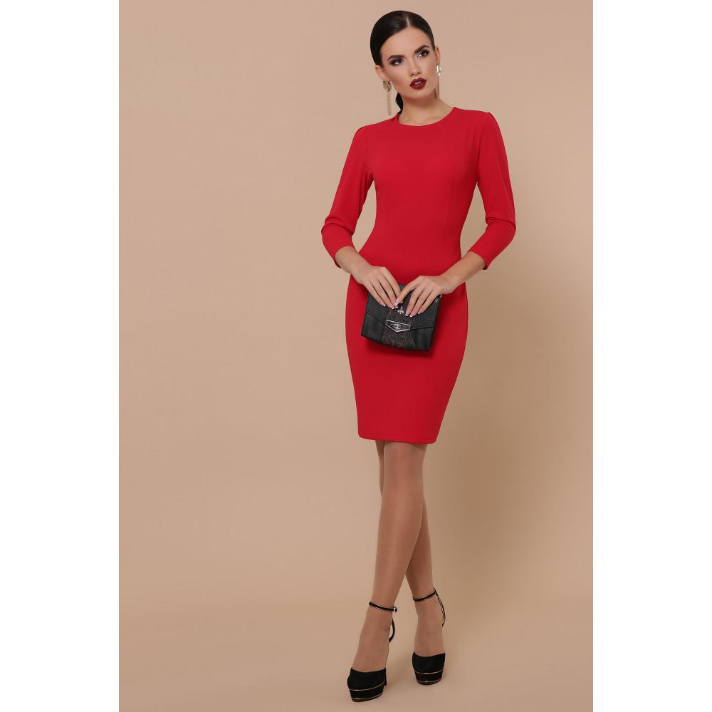 Базовое красное платье Модеста фото 2
