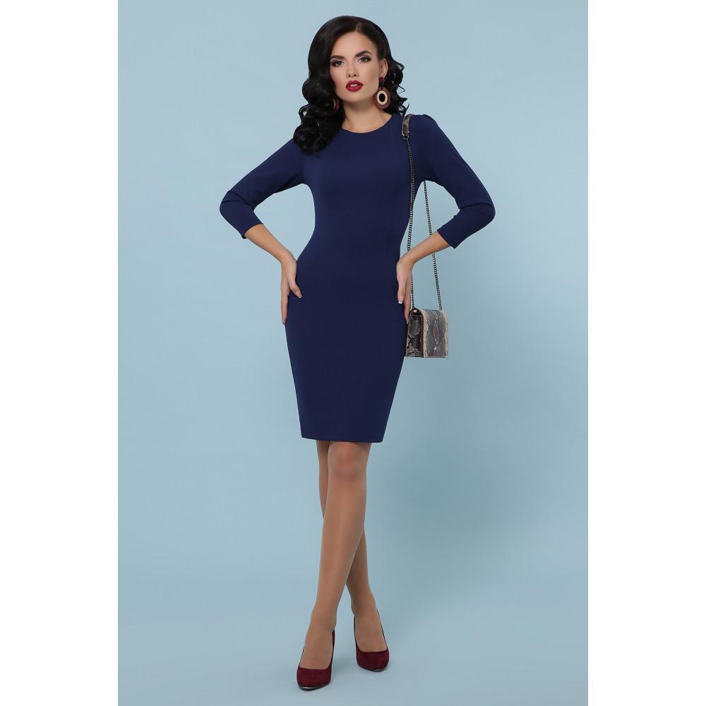 Базовое синее платье Модеста фото 1