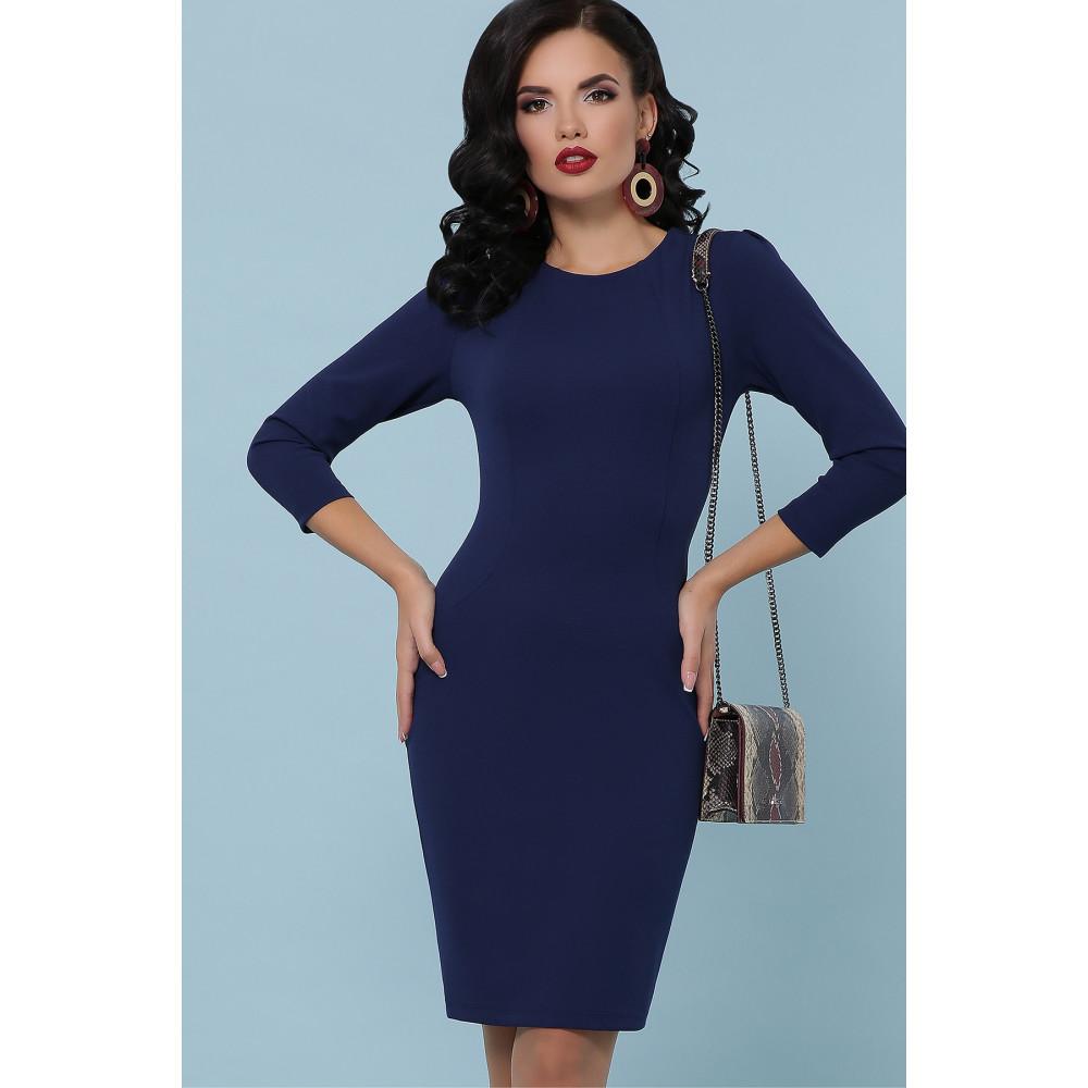 Базовое синее платье Модеста фото 3