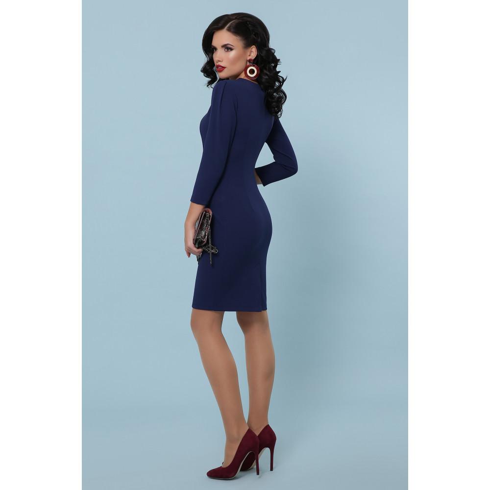 Базовое синее платье Модеста фото 4