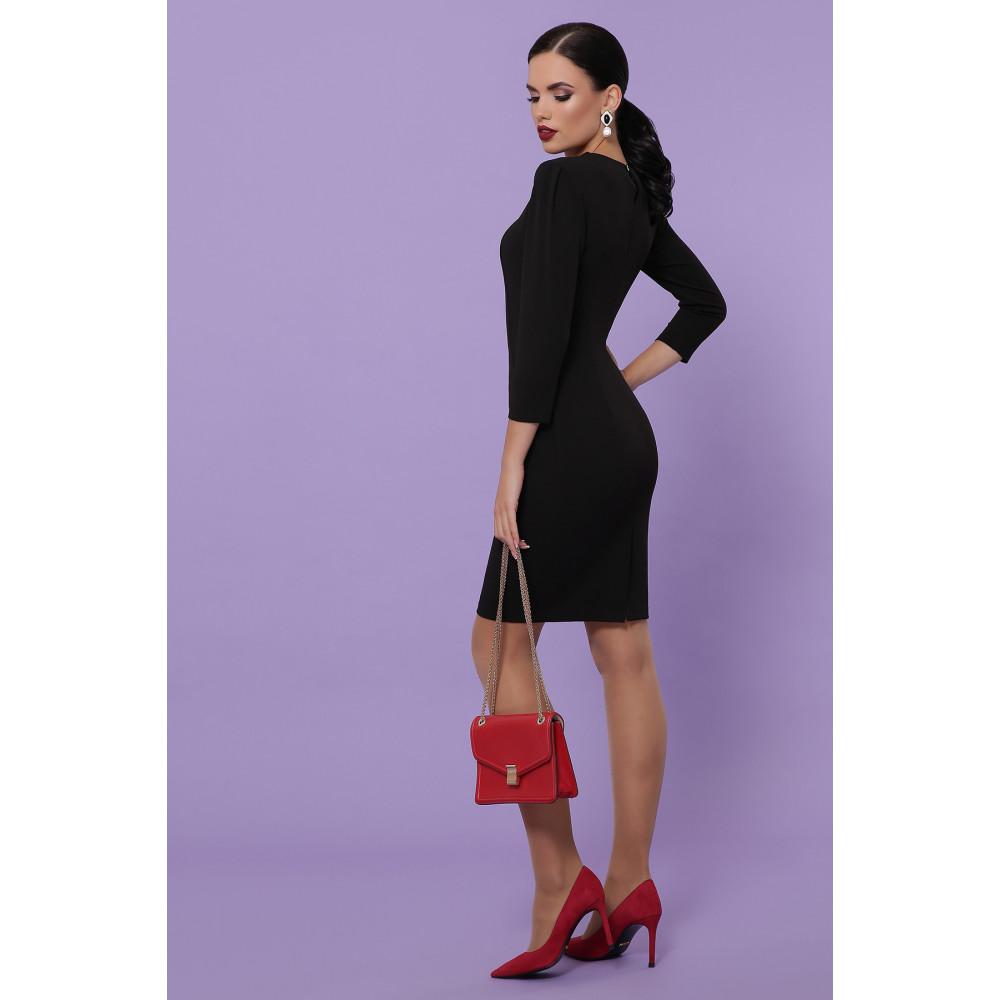 Базовое черное платье Модеста фото 4