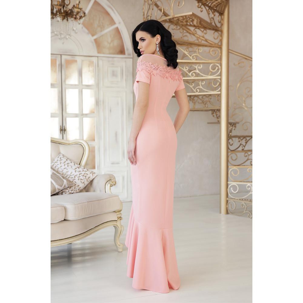 Изумительное платье декорированное цветами Наоми фото 3