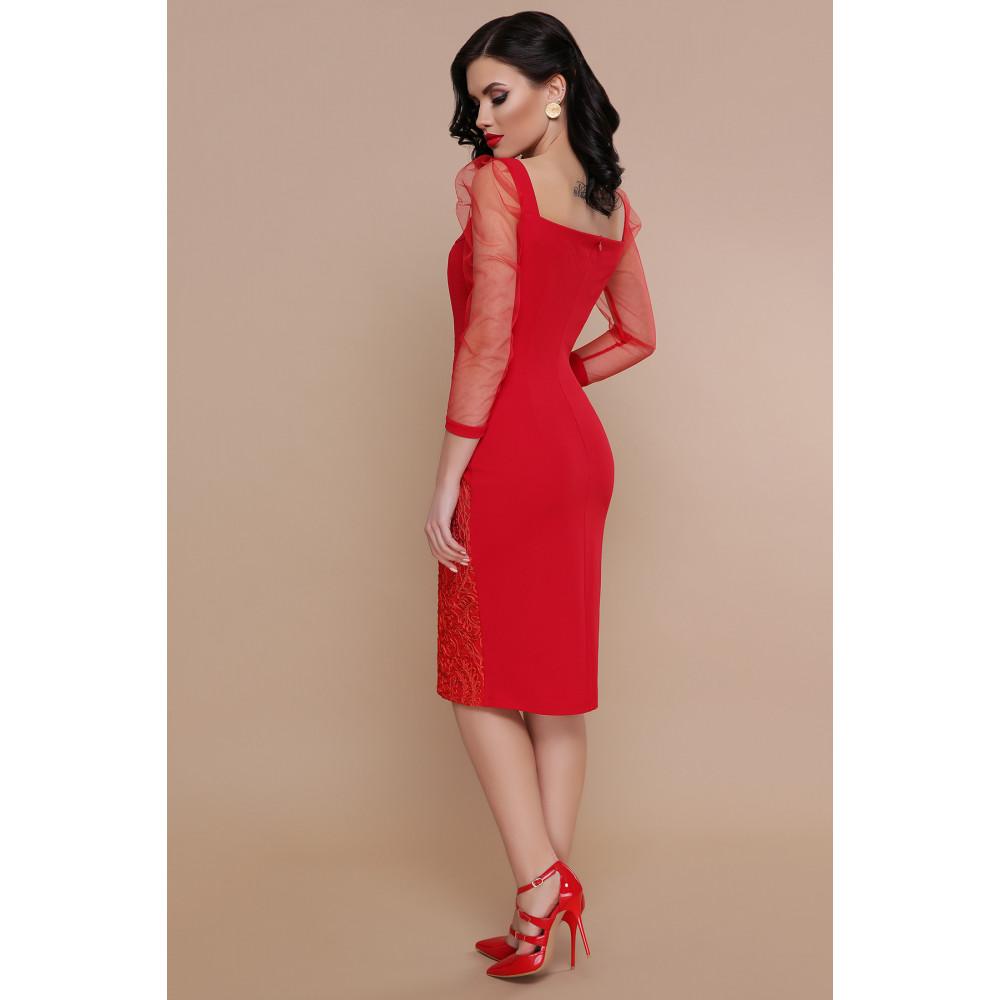 Интересное красное платье Памела фото 2